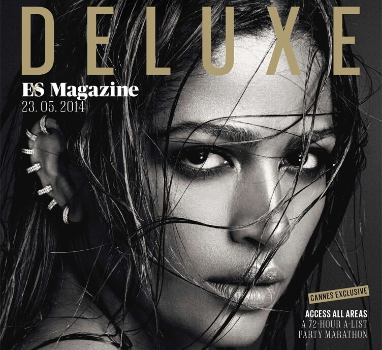 Камила Альвес в журнале Deluxe
