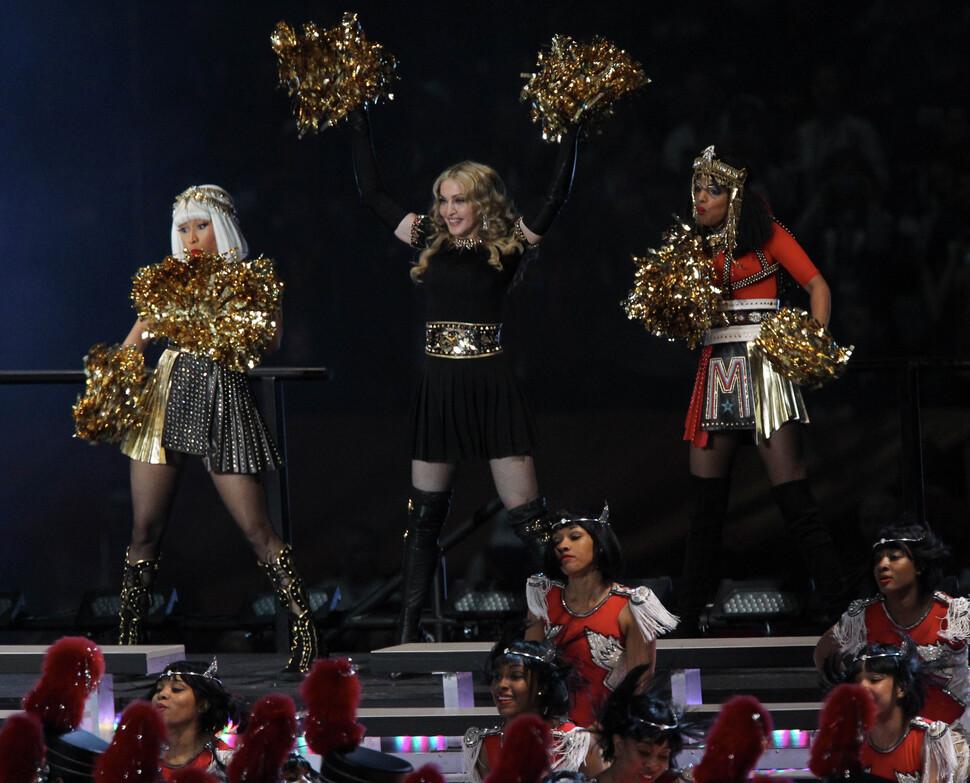 Выступление Мадонны на Суперкубке
