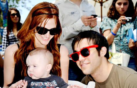 Как отметили День Рождения сына Пит Венц и Эшли Симпсон