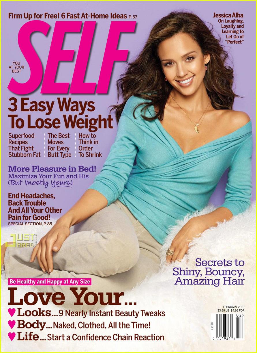 Джессика Альба в журнале Self. Февраль 2010