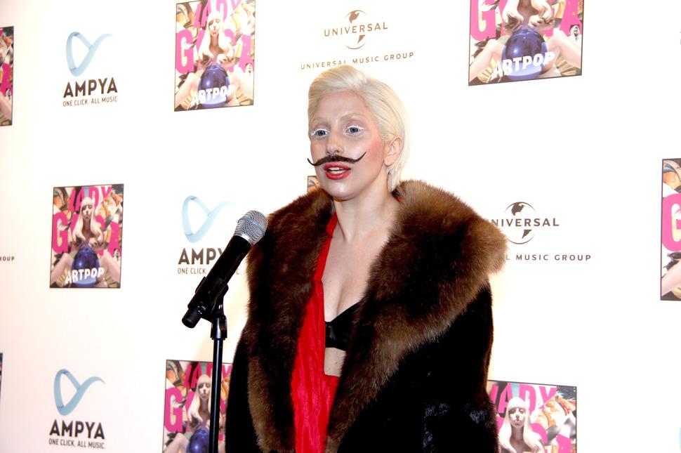 Lady GaGa представила новый альбом в Берлине