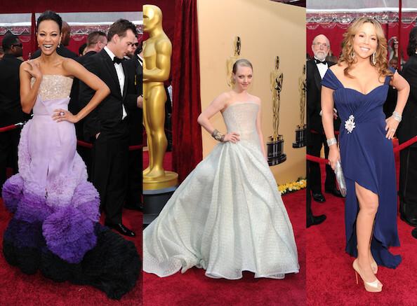 Лучшие и худшие наряды Оскара 2010