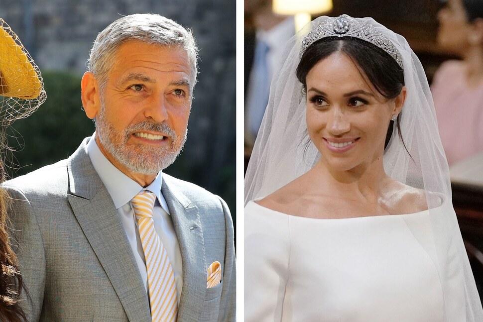 «Ее тоже преследуют и травят»: Джордж Клуни сравнил Меган Маркл с принцессой Дианой