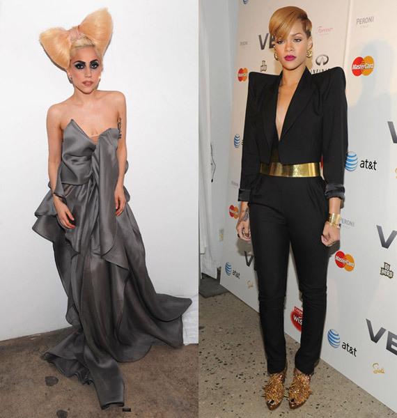 Рианна: Я никогда не смогу одеваться как Lady Gaga