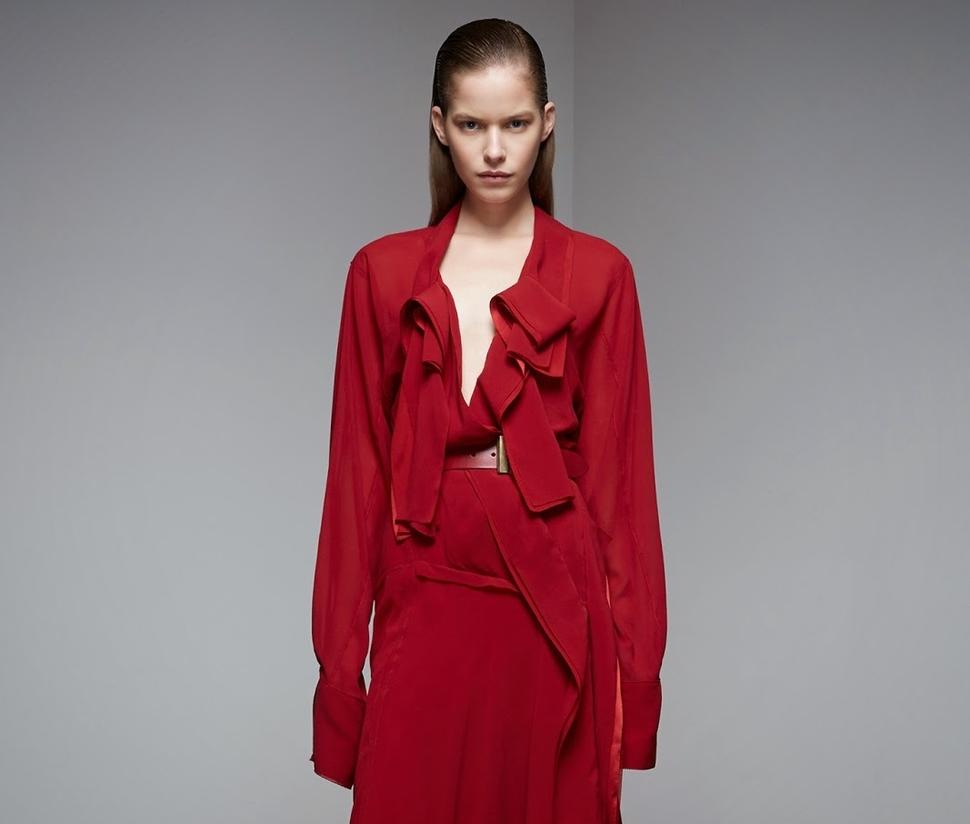 Новая коллекция Donna Karan Pre-Fall 2015