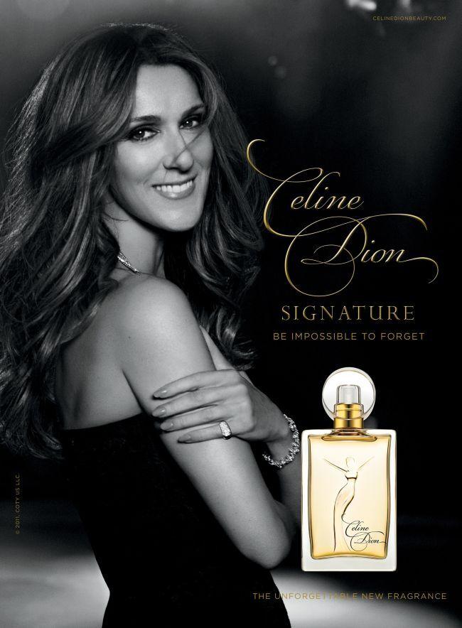 Новый аромат от Селин Дион Celine Dion Signature