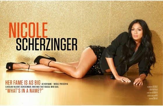 Николь Шерзингер в журнале FHM Индия. Ноябрь 2013