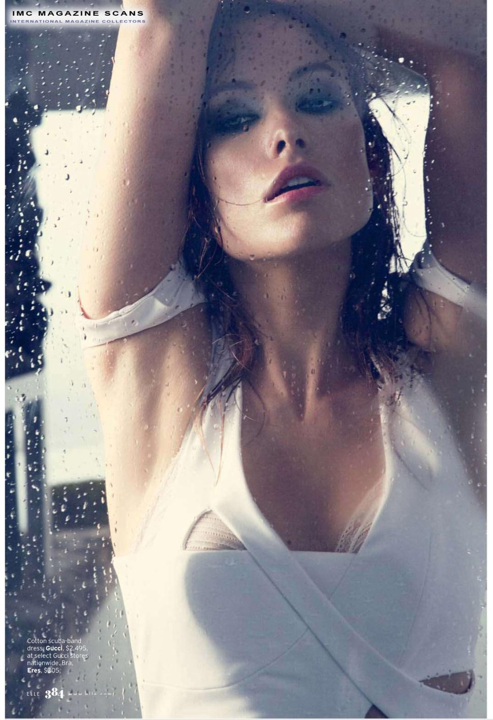 Оливия Уайлд в журнале Elle. Март 2010