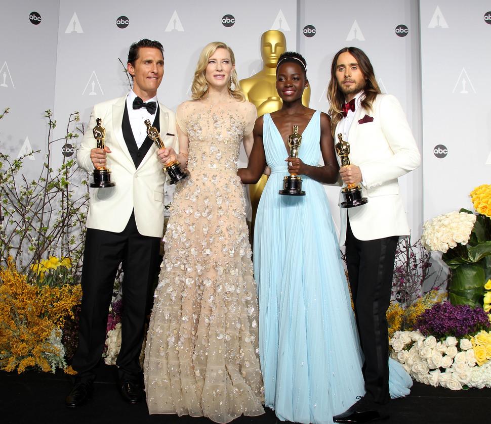 Церемония «Оскар» 2014: красная дорожка