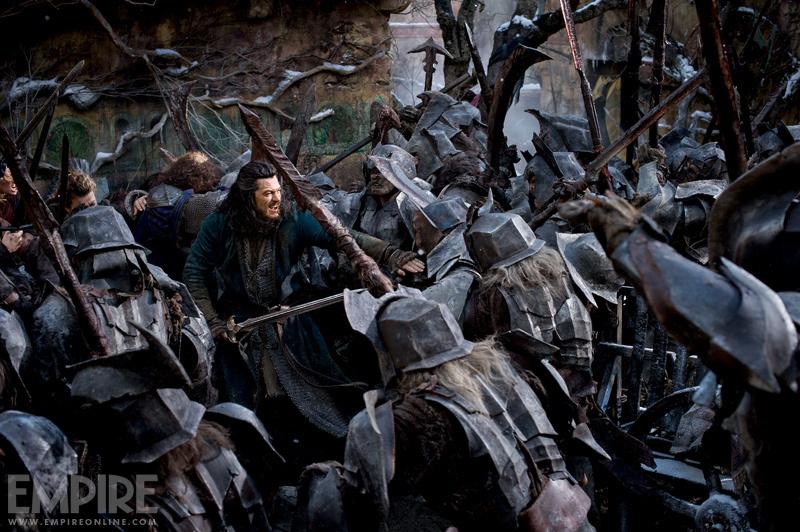 Новые кадры: «Хоббит: Битва пяти воинств» и «Мир Юрского периода»