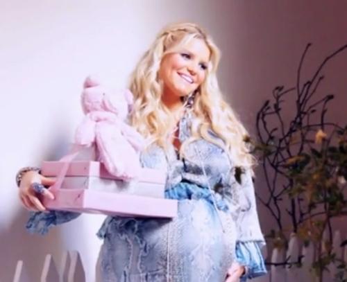 Джессика Симпсон устроила вечеринку в честь будущего ребенка