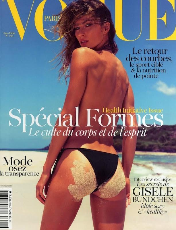 Жизель Бундхен  в журнале Vogue Франция. Июнь 2012
