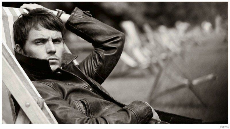 Сэм Клафлин в журнале GQ Style Великобритания. Осень / зима 2014-2015