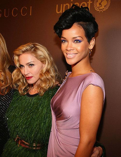 Мадонна вдохновляет Рианну
