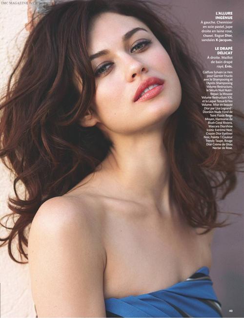 Ольга Куриленко в журнале Madame Figaro. Август 2009