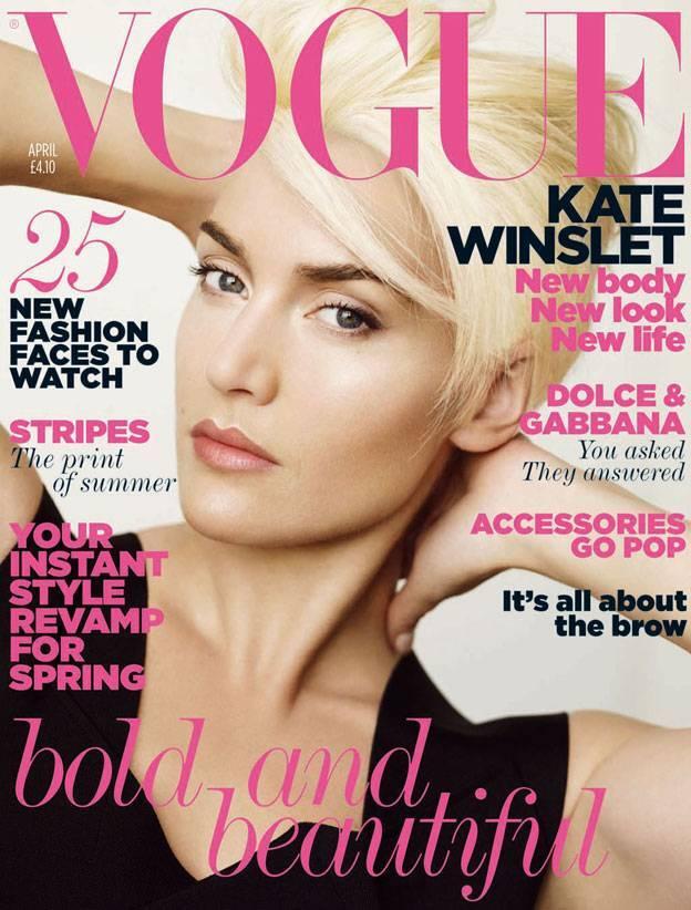 Кейт Уинслет в журнале Vogue UK. Апрель 2011