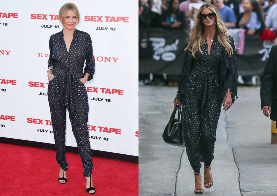 Fashion battle: Камерон Диаз и Эль Макферсон