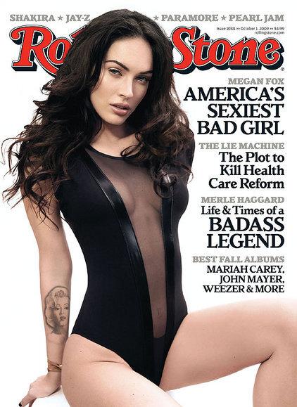 Меган Фокс в журнале Rolling Stone. Октябрь 2009