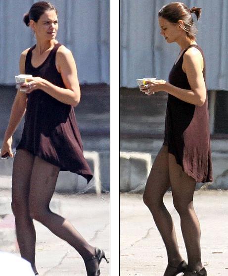 Кэти Холмс готовится к танцевальному шоу