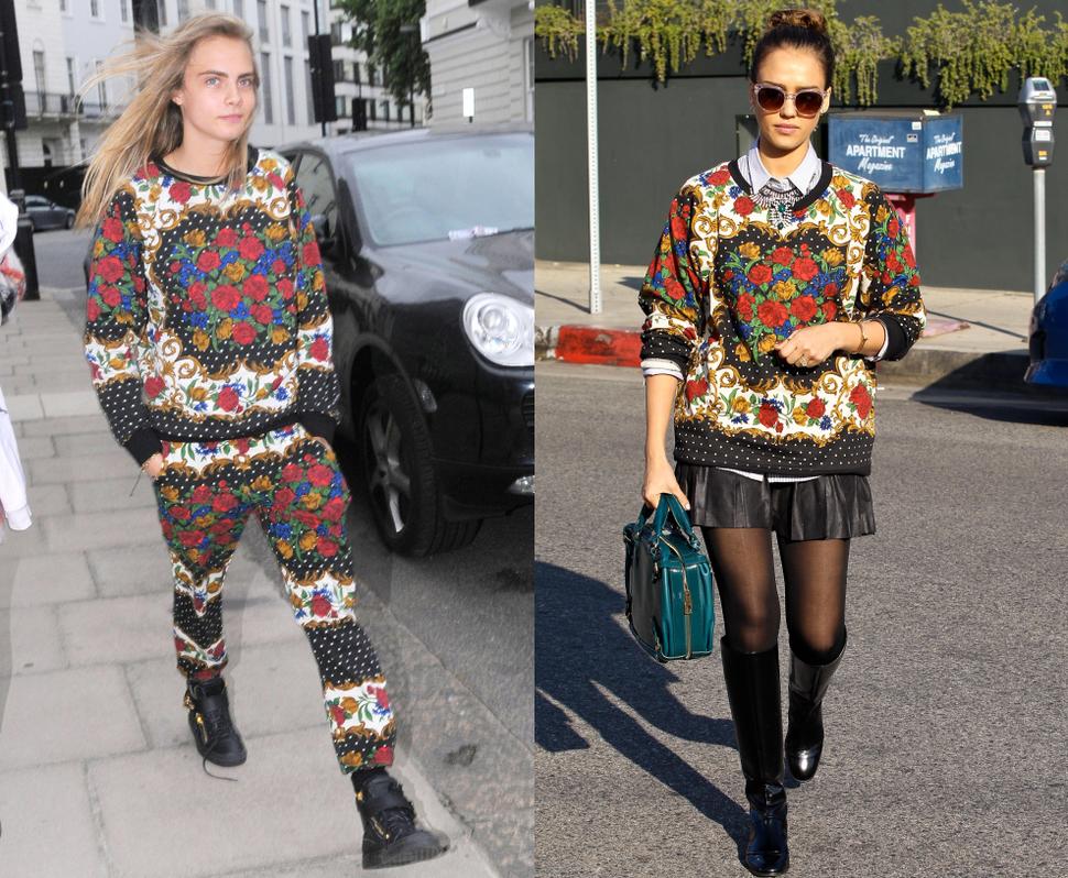 Fashion battle: Кара Делевинь и Джессика Альба