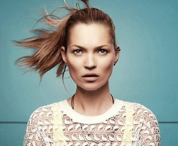 Кейт Мосс в рекламной кампании Eleven Paris. Весна - лето 2014
