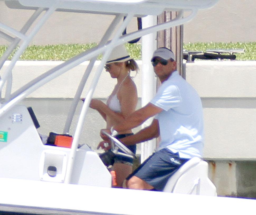Кэмерон Диаз и Алекс Родригес в Майами