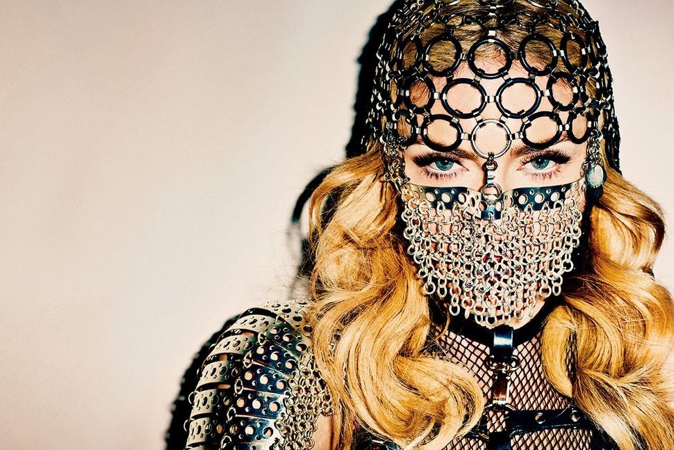 Мадонна в журнале Harper's Bazaar. Ноябрь 2013
