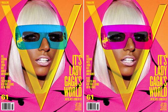 Lady GaGa в журнале V. Сентябрь 2009
