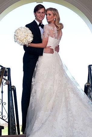 Еще несколько фото со свадьбы Иванки Трамп