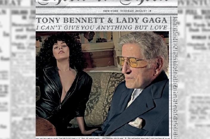 Новая песня Lady Gaga и Тонни Беннетта - I Can't Give You Anything But Love