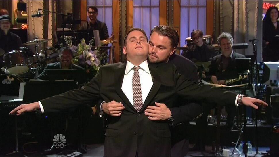 Джона Хилл на шоу Saturday Night Live