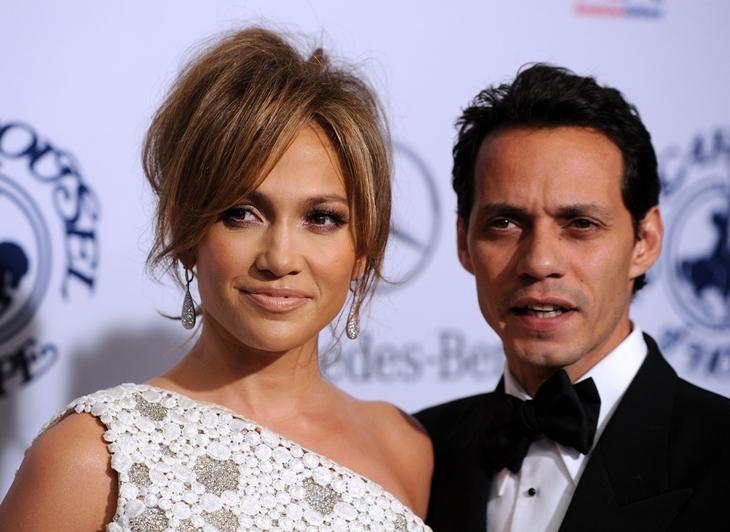 Бывший муж Дженнифер Лопес Марк Энтони отреагировал на её помолвку с Алексом Родригесом