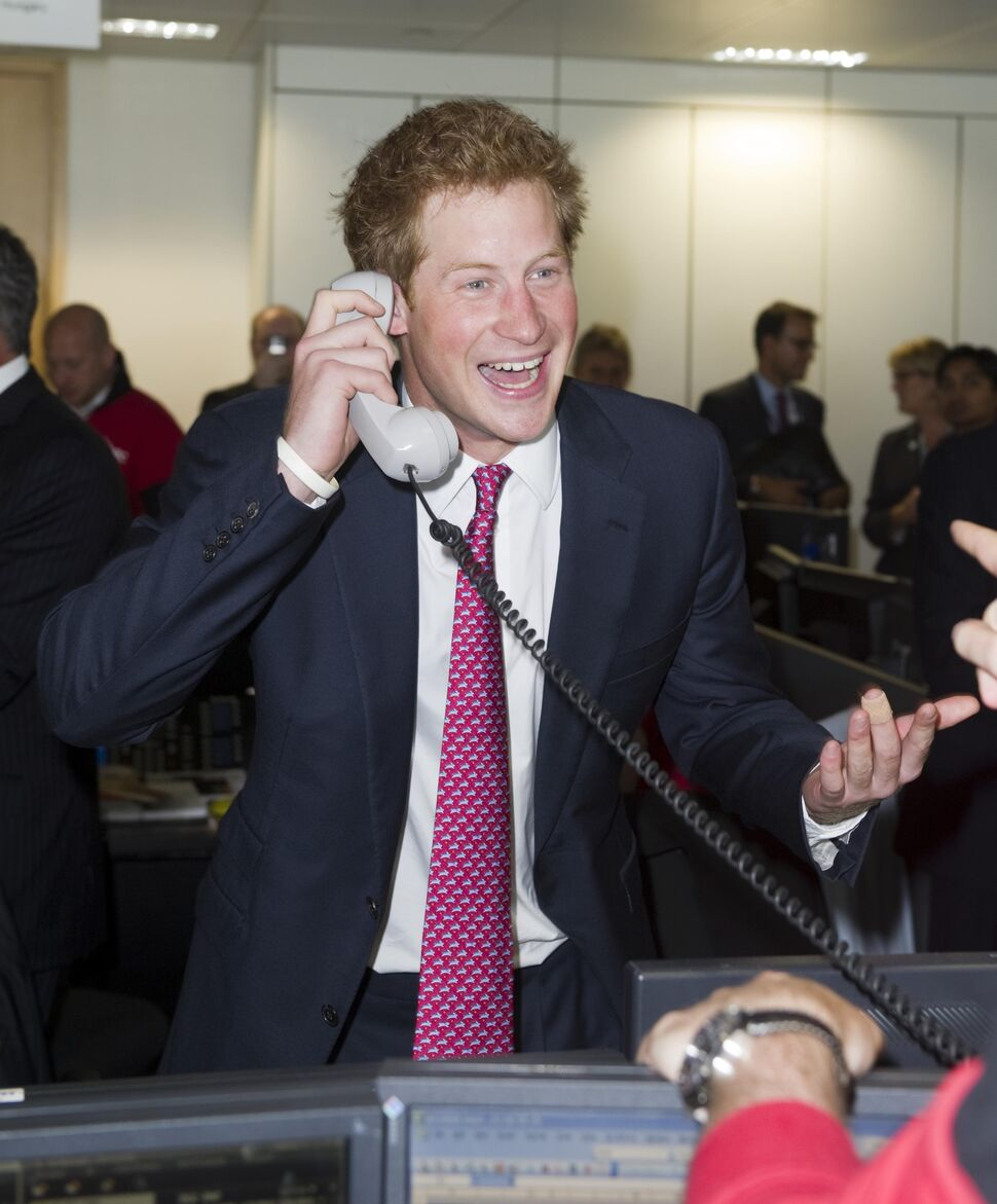 Принц Гарри отметил день рождения на рабочем месте