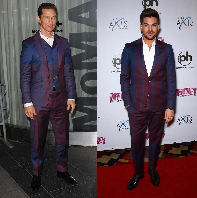 Fashion Battle: Мэттью МакКонахи и Адам Ламберт