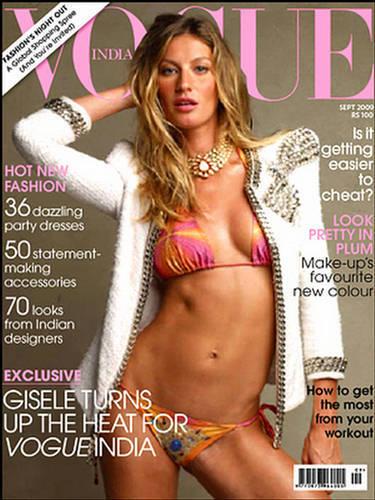 Жизель Бундхен в журнале Vogue Индия. Сентябрь 2009