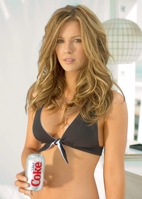 Кейт Бексинсэйл в рекламе Diet Coca-Cola