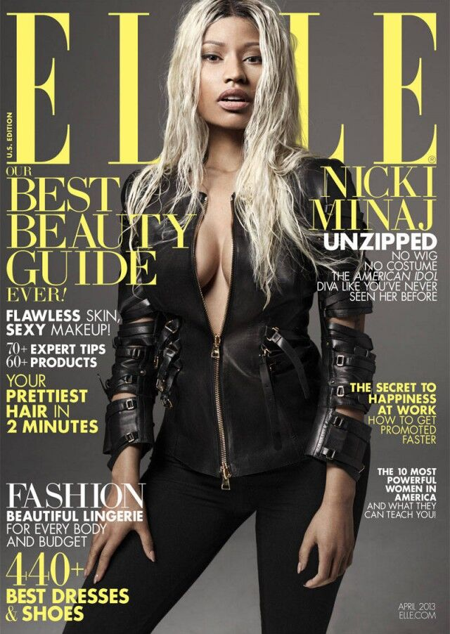 Ники Минаж в журнале Elle. Апрель 2013