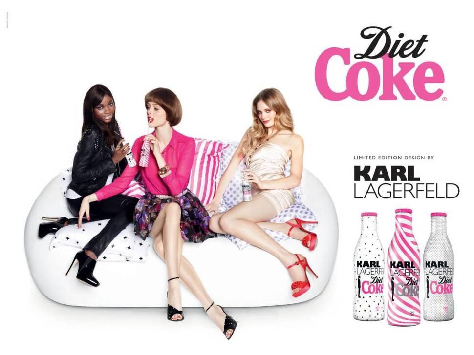 Diet Coke от Карла Лагерфельда