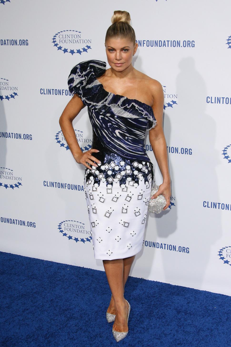 Звезды на благотворительном вечере Фонда Билла Клинтона