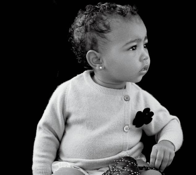 Модельный дебют: Норт Уэст в журнале CR Fashion Book
