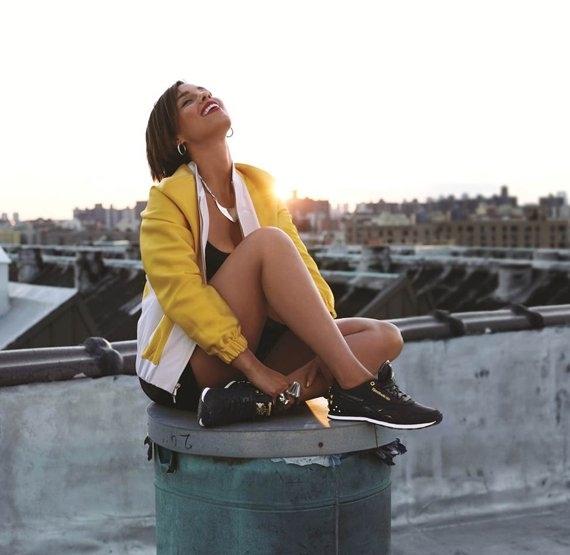 Алиша Кис создала коллекцию обуви для Reebok