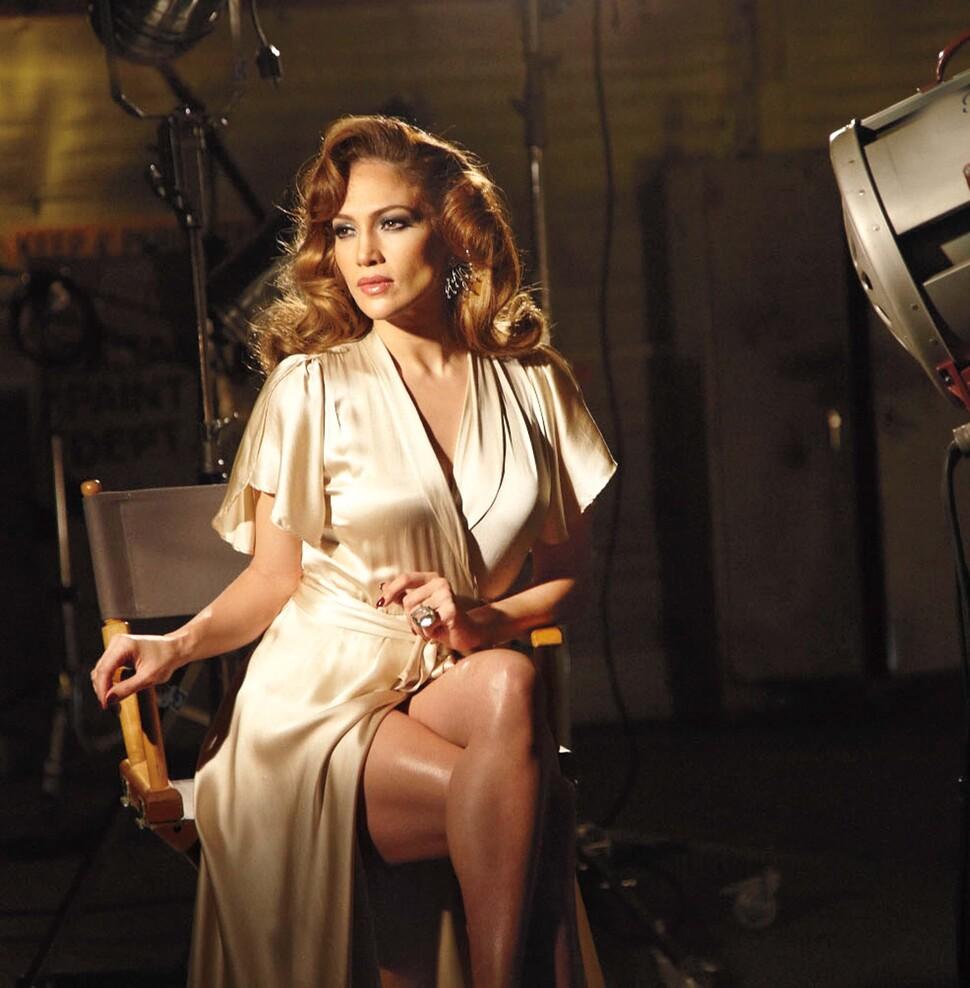 Дженнифер Лопес на съемках рекламы нового аромата Love & Light