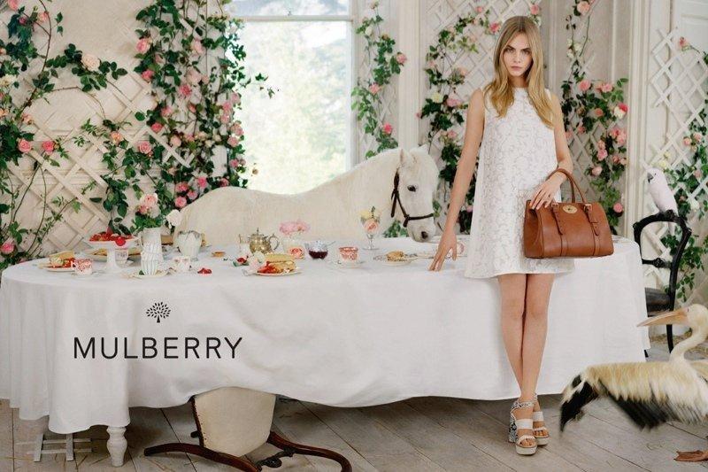 Чайная вечеринка от Mulberry
