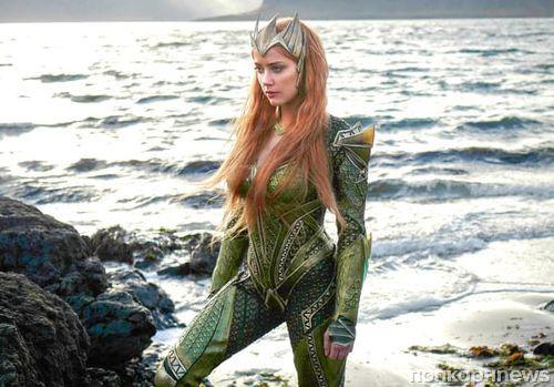 Видео: Эмбер Херд начала тренироваться к съемкам «Аквамена»