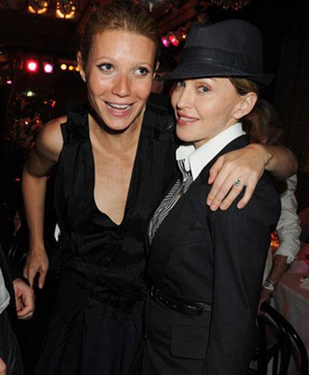 Гвинет Пэлтроу и Мадонна: дружба все еще крепка