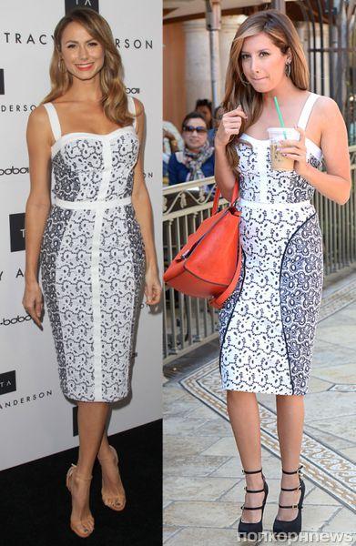 Fashion battle: Стейси Киблер и Эшли Тисдейл