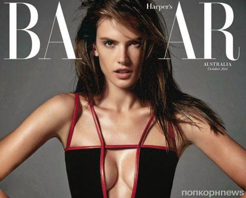 Алессандра Амбросио в журнале Harper's Bazaar. Австралия. Октябрь 2014