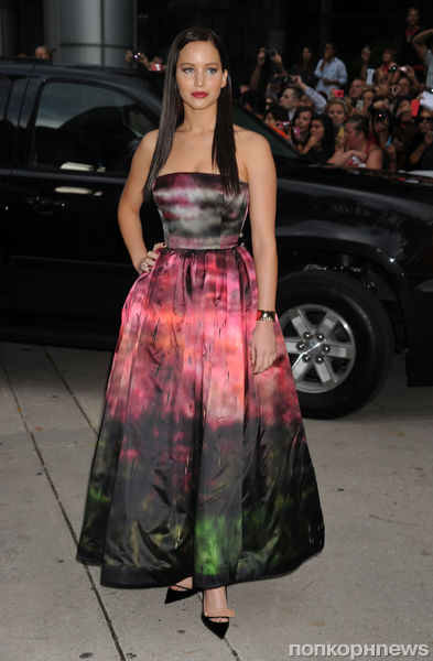 Дженнифер Лоуренс стала новым лицом Miss Dior