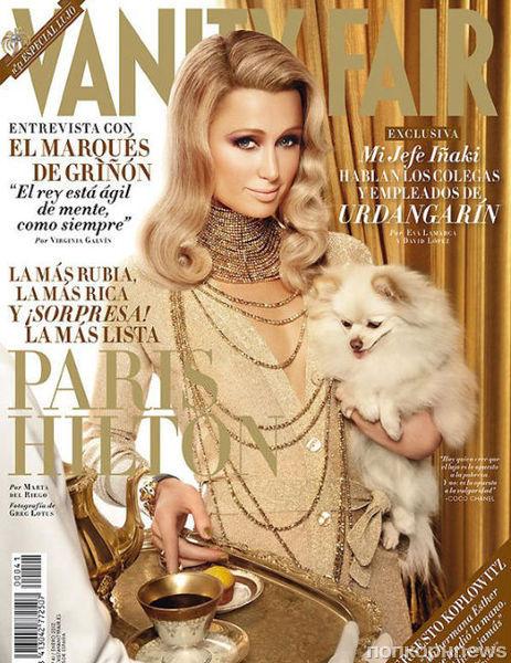 Пэрис Хилтон в журнале Vanity Fair Испания. Январь 2012