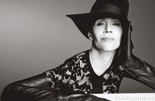 77-летняя Джейн Фонда появилась на обложке модного глянца